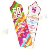 50 Large Flavour Card