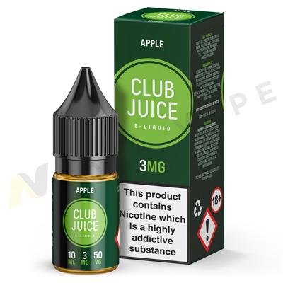 Apple eLiquid By Club Juice 50/50
