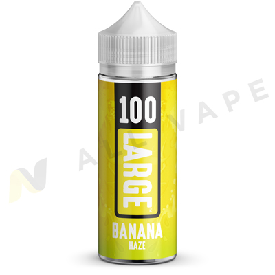 Banana Haze eLiquid Unboxed By 100 Large 100ml