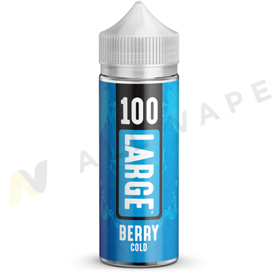 Berry Cold eLiquid Unboxed By 100 Large 100ml