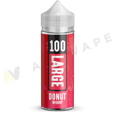 Donut Worry eLiquid Unboxed By 100 Large 100ml