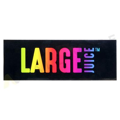 Large Juice Sticker