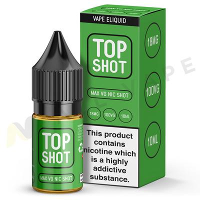 Top Shot 100VG Nic Shot By Top Shot